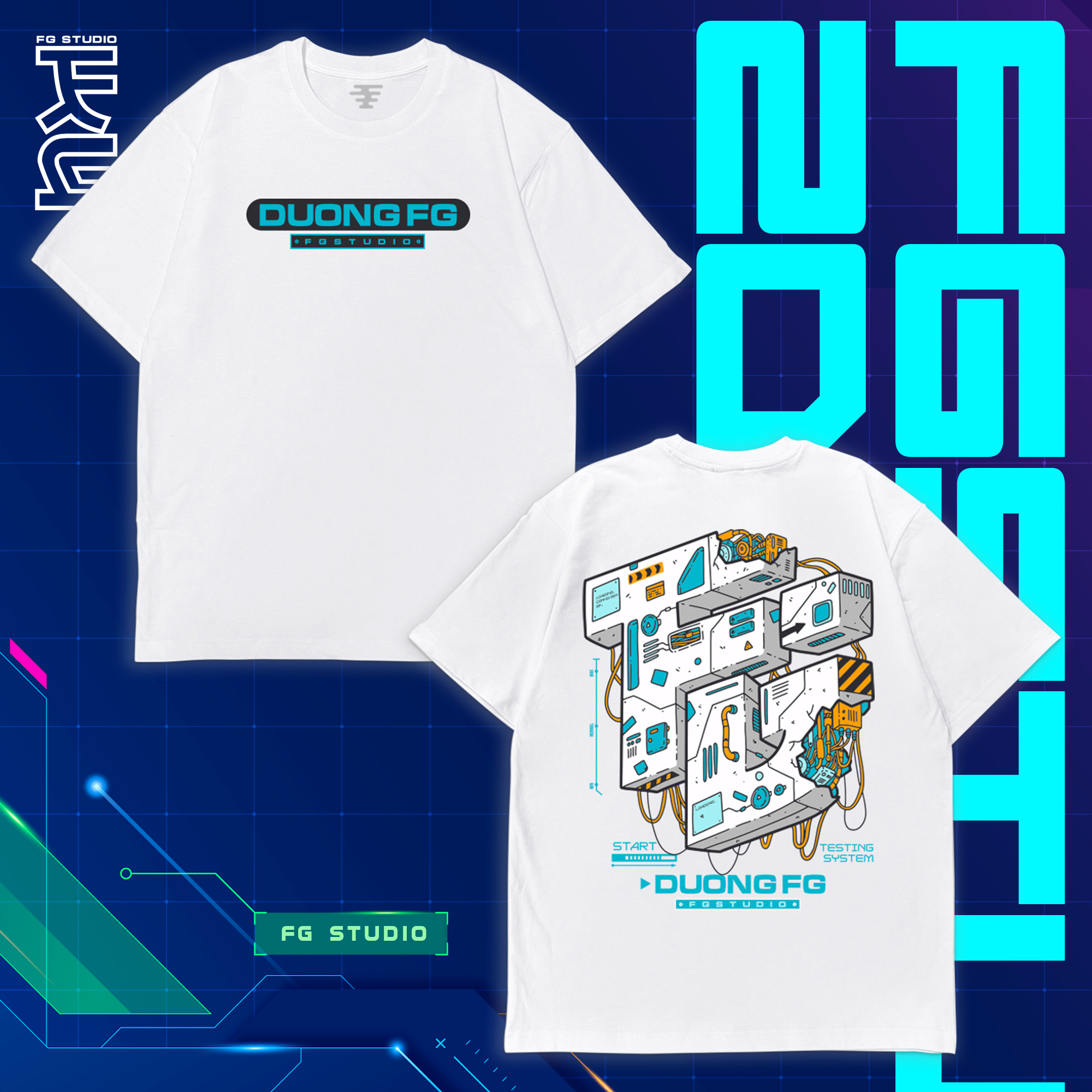 6 Years Special 3D Tshirt White